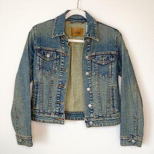 Levi Strauss & Co Denim Jacket in Blue Size Small